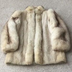 Vintage Saga Mink Coat. Size L.